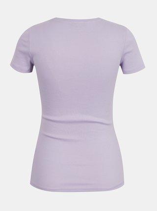Fialové basic tričko TALLY WEiJL