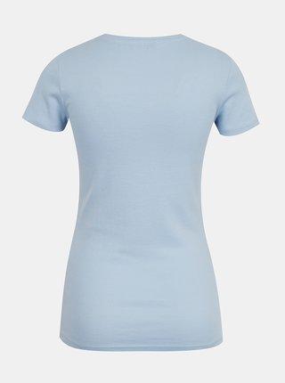 Světle modré basic tričko TALLY WEiJL