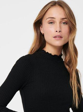 Černé tričko Jacqueline de Yong Fransiska