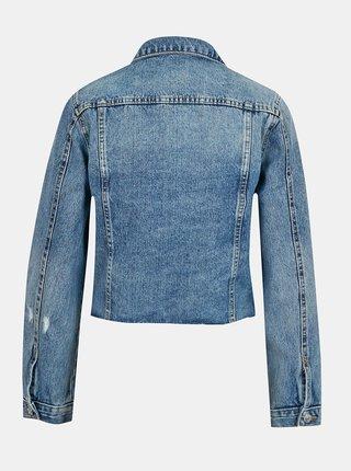 Modrá krátká džínová bunda TALLY WEiJL
