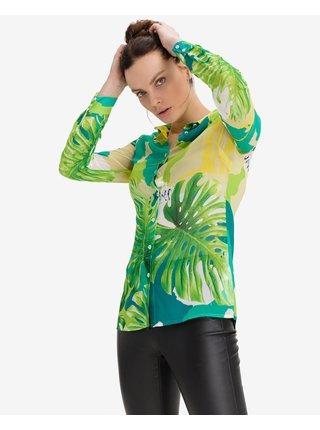 Košele pre ženy Guess - zelená