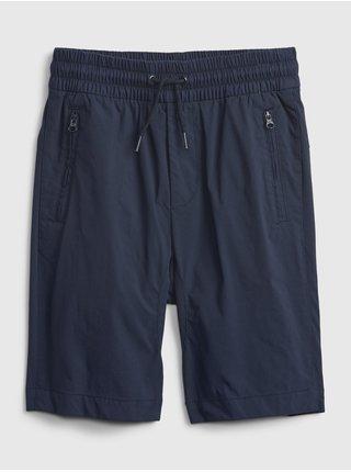Modré klučičí dětské kraťasy pull-on hybrid shorts with quickdry. GAP