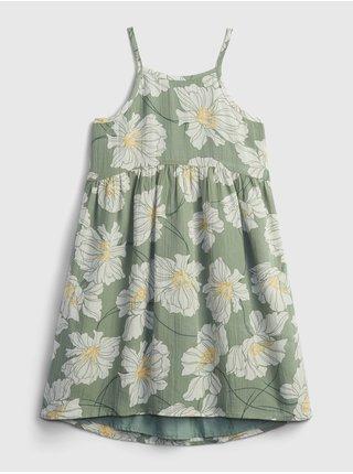 Bílé holčičí dětské šaty halter dress GAP