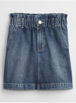 Modrá holčičí dětská džínová sukně denim skirt GAP