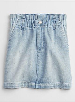 Modrá holčičí dětská sukně denim skirt GAP