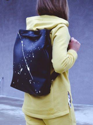 Xiss černý městský batoh Splashed Black City