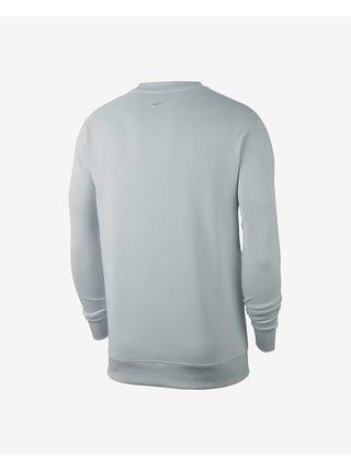 Mikiny bez kapuce pre mužov Nike - sivá