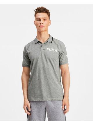 Polokošele pre mužov Puma - sivá