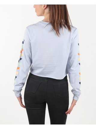 Tričká s dlhým rukávom pre ženy VANS - modrá