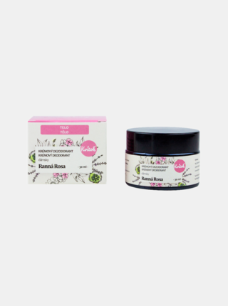 Přírodní jemný krémový deodorant Ranní rosa 30 ml Kvitok