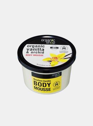 Organic Shop Tělová pěna Vanilka Bourbon 250 ml