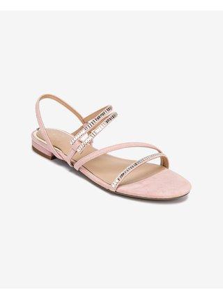 Sandále pre ženy Guess - ružová, béžová