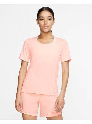 Tričká s krátkym rukávom pre ženy Nike - béžová