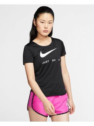 Tričká s krátkym rukávom pre ženy Nike - čierna