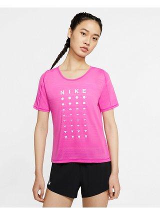 Tričká s krátkym rukávom pre ženy Nike - ružová