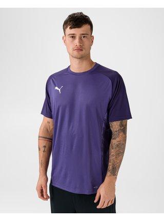 Tričká s krátkym rukávom pre mužov Puma - fialová