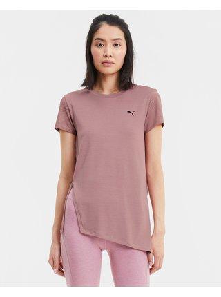 Tričká s krátkym rukávom pre ženy Puma - ružová