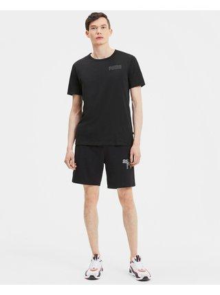 Tričká s krátkym rukávom pre mužov Puma - čierna