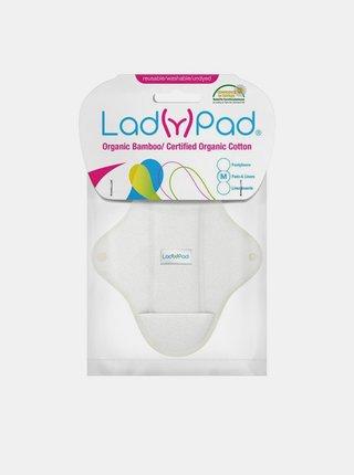 LadyPad Látková vložka s vkládací vložkou (S) - bílá