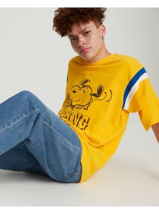 Tričká s krátkym rukávom pre mužov Levi's® - žltá
