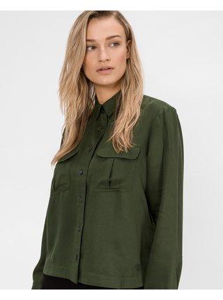 Košele pre ženy Calvin Klein - zelená