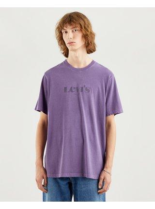 Tričká s krátkym rukávom pre mužov Levi's® - fialová