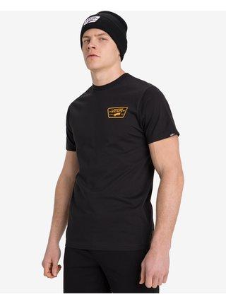 Tričká s krátkym rukávom pre mužov VANS - čierna