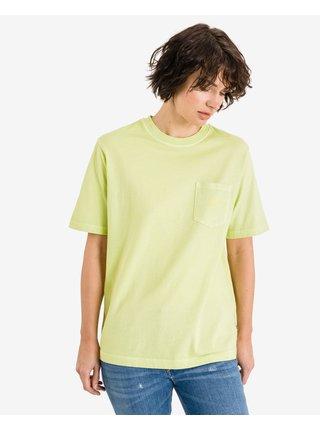 Tričká s krátkym rukávom pre ženy VANS - žltá