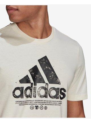 Tričká s krátkym rukávom pre mužov adidas Performance - biela