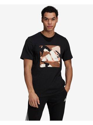 Tričká s krátkym rukávom pre mužov adidas Performance - čierna