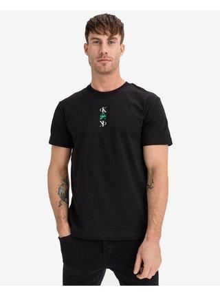 Tričká s krátkym rukávom pre mužov Calvin Klein - čierna