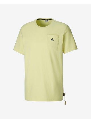 Tričká s krátkym rukávom pre mužov Puma - žltá