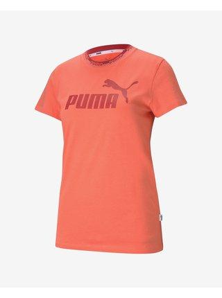 Tričká s krátkym rukávom pre ženy Puma - oranžová
