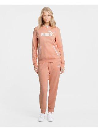 Mikiny pre ženy Puma - oranžová