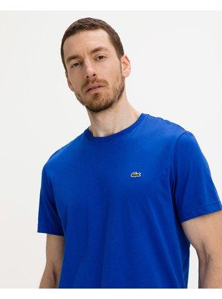 Tričká s krátkym rukávom pre mužov Lacoste - modrá