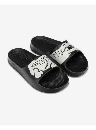 Papuče, žabky pre ženy Lacoste - čierna