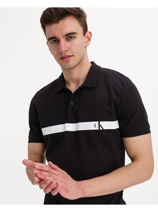 Horizontal Panel Polo triko Calvin Klein