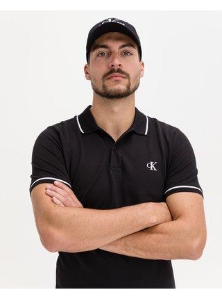 Tipping Slim Polo triko Calvin Klein