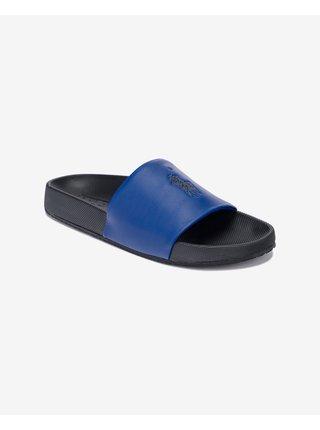 Sandále, papuče pre mužov POLO Ralph Lauren - čierna, modrá