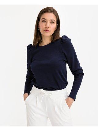 Tričká s dlhým rukávom pre ženy VERO MODA - modrá