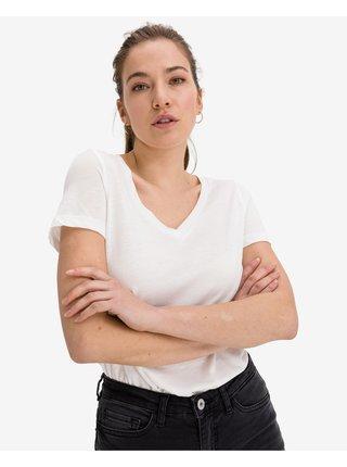 Tričká s krátkym rukávom pre ženy VERO MODA - biela
