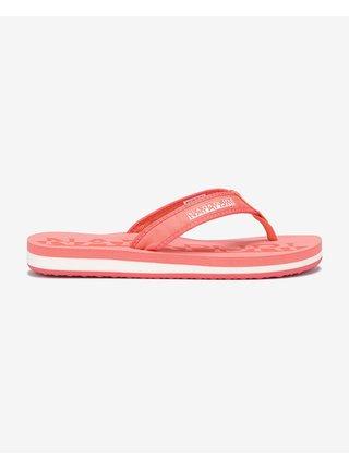 Papuče, žabky pre ženy NAPAPIJRI - ružová