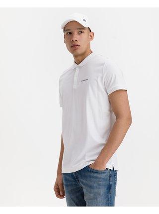 Polokošele pre mužov Calvin Klein - biela