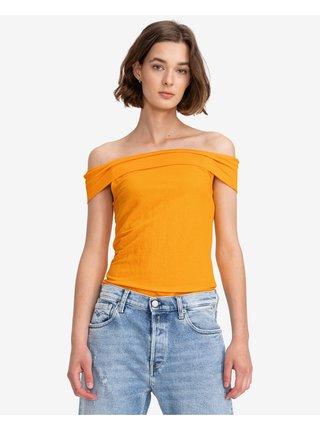 Tričká s krátkym rukávom pre ženy VERO MODA - žltá