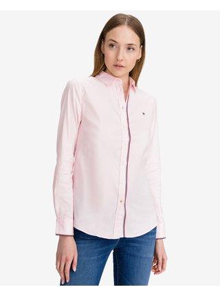 Košele pre ženy Tommy Hilfiger - ružová