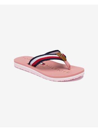 Papuče, žabky pre ženy Tommy Hilfiger - ružová