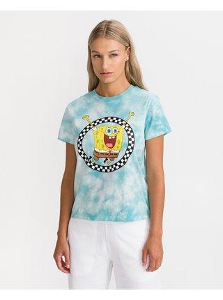 Tričká s krátkym rukávom pre ženy VANS - modrá