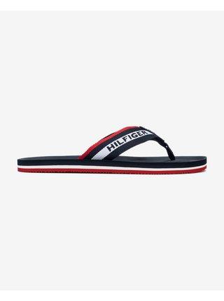 Sandále, papuče pre mužov Tommy Hilfiger - modrá