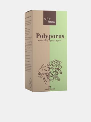 Polyporus s jitrocelem - 40% polysacharidů Serafin (90 kapslí)