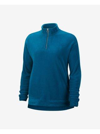 Mikiny pre ženy Nike - modrá
